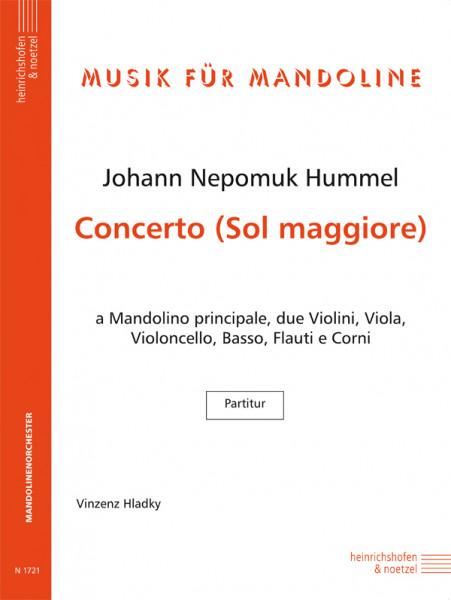 Concerto Sol maggiore (G-Dur)