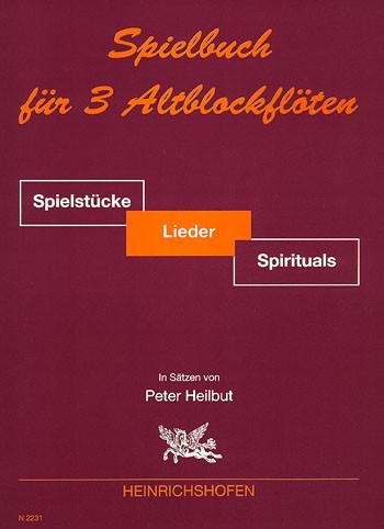 Spielbuch für 3 Altblockflöten