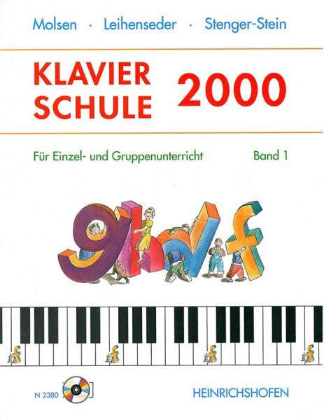 Klavierschule 2000, Band 1