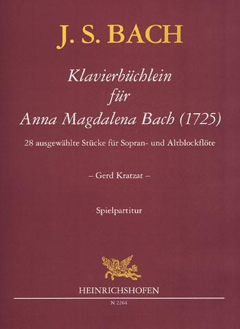 Klavierbüchlein für Anna Magdalena Bach (1725)