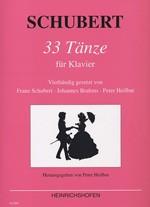 33 Tänze für Klavier