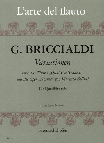 "Variationen über ""Qual Cor Tradisti"" aus ""Norma"""