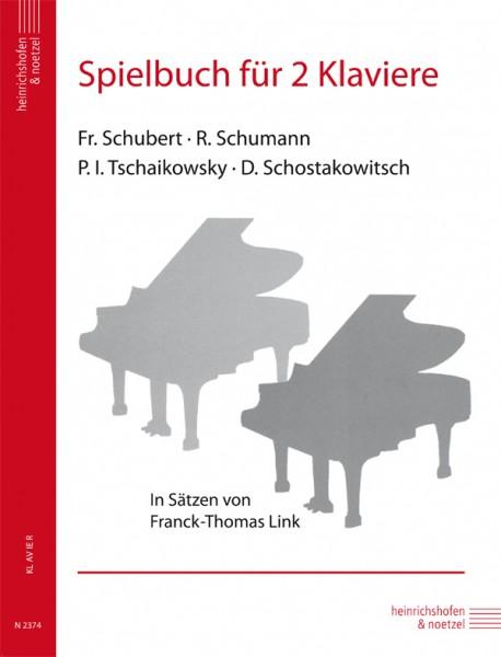 Spielbuch für 2 Klaviere