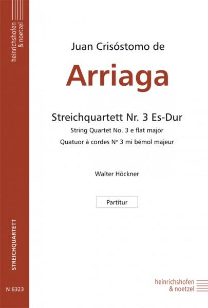 Streichquartett Nr. 3 Es-Dur