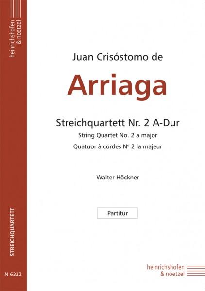 Streichquartett Nr. 2 A-Dur