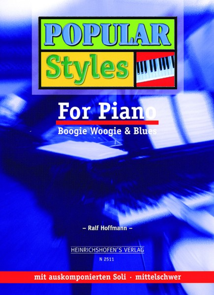 Popular Styles For Piano, Bd 1