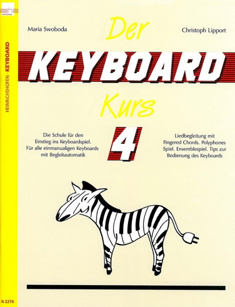 Der Keyboard-Kurs, Band 4
