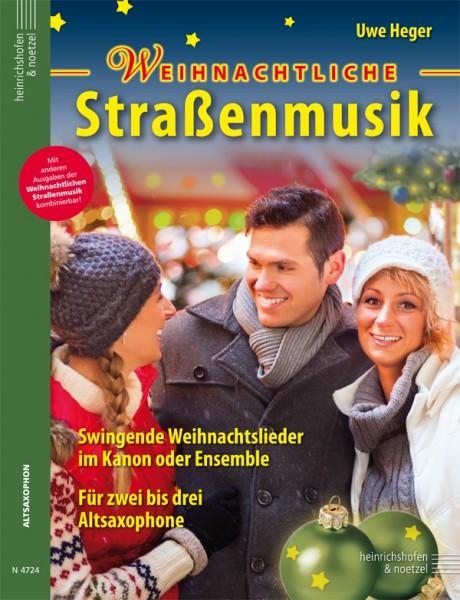 Weihnachtliche Straßenmusik (Altsaxophon)