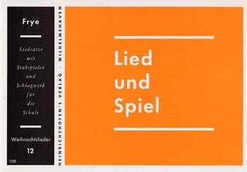 Lied und Spiel, Bd 12