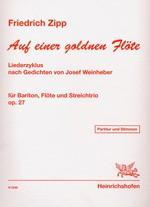 Auf einer goldenen Flöte