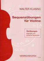 Sequenzübungen für Violine
