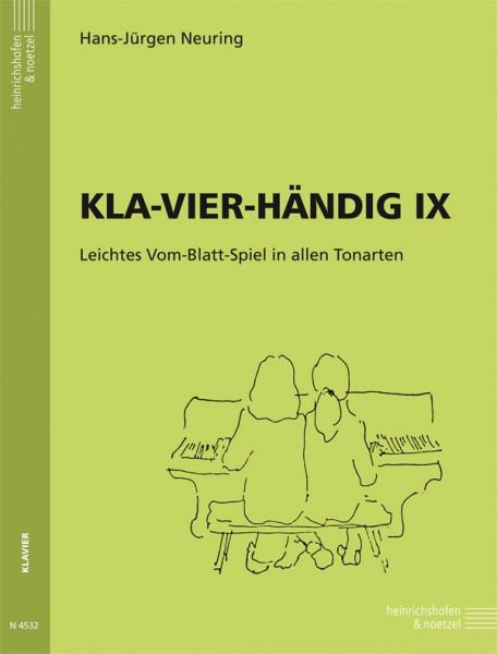 KLA-VIER-HÄNDIG IX