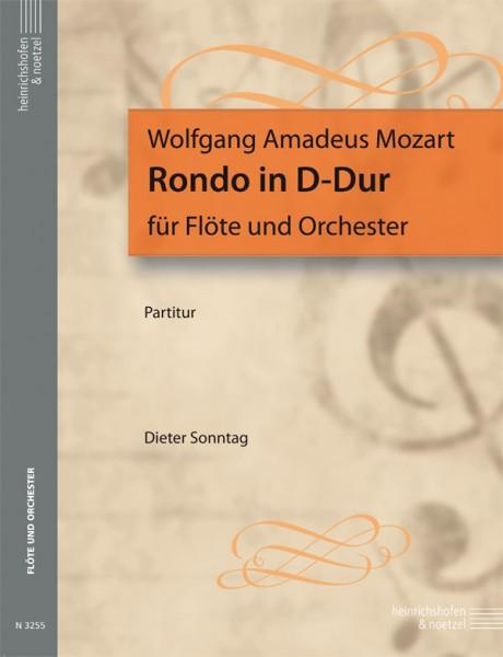 Rondo D-Dur für Flöte und Orchester