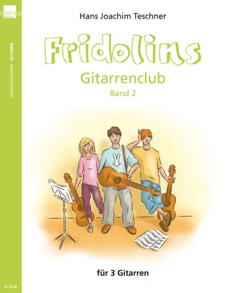 Fridolins Gitarrenclub, Band 2