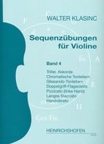 Sequenzübungen für Violine, Bd 4