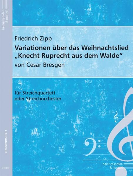 """Variationen über das Weihnachtslied """"Knecht Ruprecht aus dem Walde"""""""