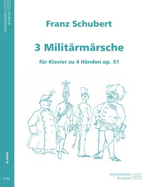3 Militärmärsche