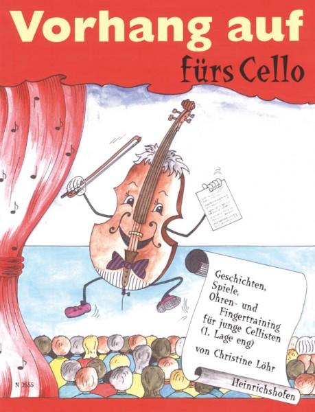 Vorhang auf fürs Cello, Band 1