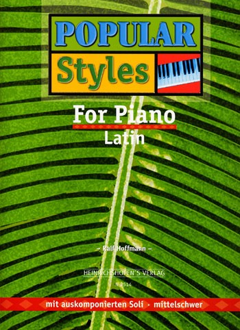 Popular Styles for Piano, Bd 4