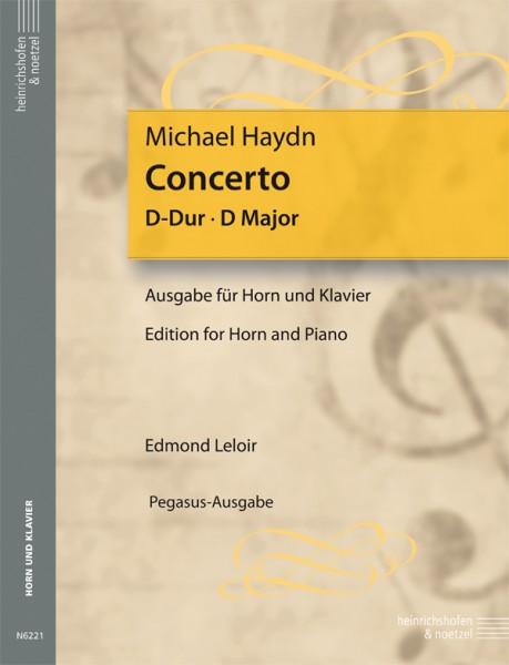 Konzert D-Dur für Horn und Klavier