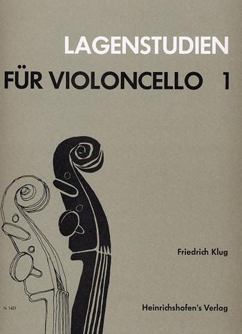 Lagenstudien für Violoncello, Bd 1
