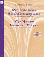 Der fröhliche Blockflötenspieler
