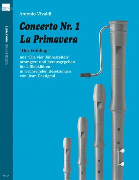 "Concerto Nr. 1 La Primavera ""Der Frühling"""