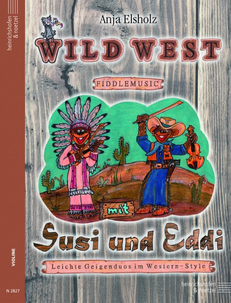 Wild West Fiddlemusic mit Susi und Eddi