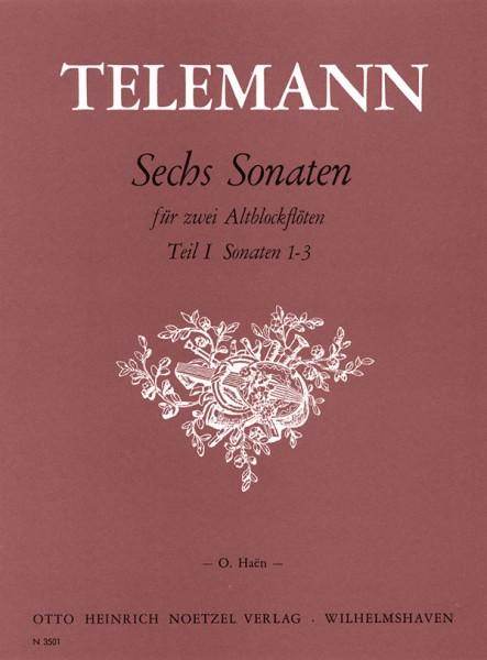 Sechs Sonaten , Teil 1
