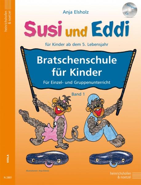 Susi und Eddi: Bratschenschule für Kinder (mit CD)