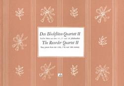Das Blockflötenquartett, Bd 2