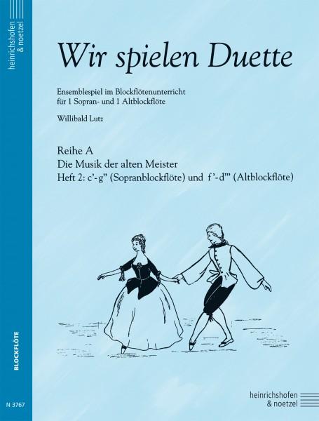 Wir spielen Duette, Heft 2