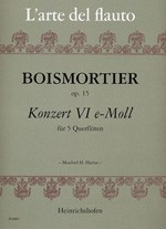 Konzert VI e-Moll