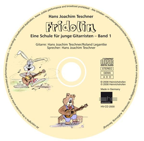 Begleit-CD zu Fridolin, Band 1