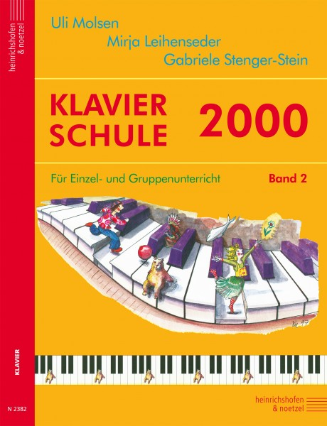 Klavierschule 2000 , Bd 2