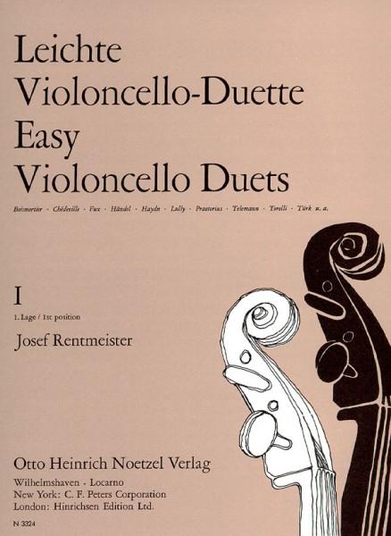 Leichte Violoncello-Duette, Band 1