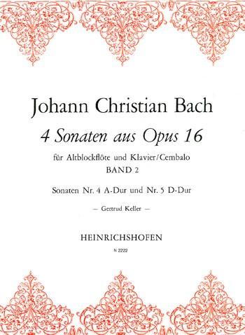 4 Sonaten aus Opus 16, Bd 2
