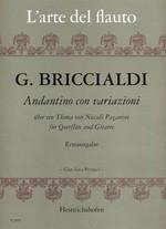 Andantino con variazioni über ein Thema von Niccolo Paganini