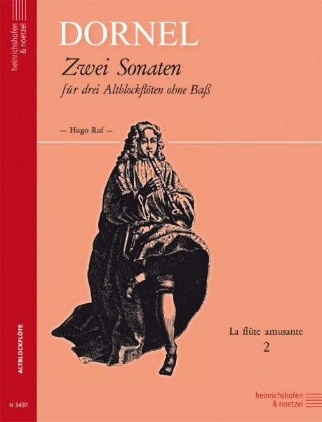 2 Sonaten, d-Moll und B-Dur