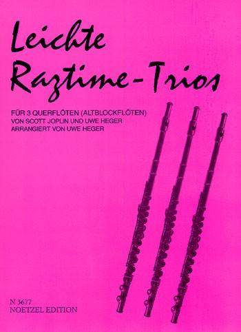 Leichte Ragtime-Trios