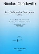 Les Galanteries Amusantes , Heft 1