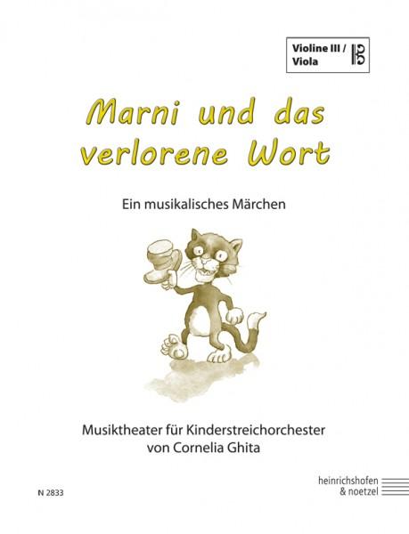 Marni und das verlorene Wort (Violine III / Viola im Bratschenschlüssel)