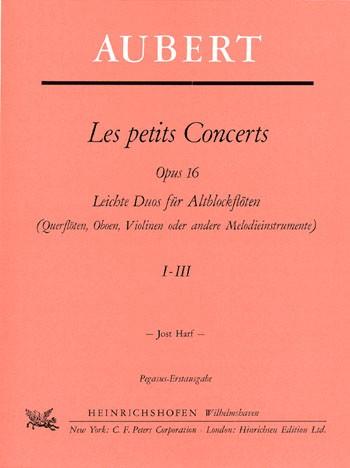 Les petits Concerts, Heft 1