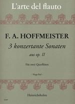 3 konzertante Sonaten aus Opus II