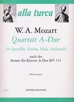 """Quartett A-Dur """"alla turca"""""""