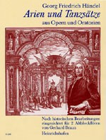 Arien und Tanzsätze aus Opern und Oratorien