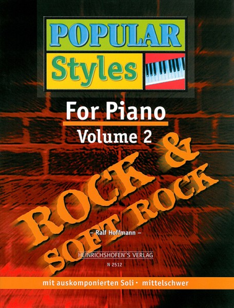 Popular Styles for Piano, Bd 2