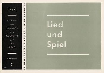 Lied und Spiel , Bd 7