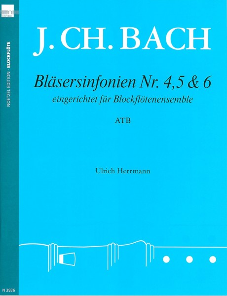 Bläsersinfonien Nr. 4, 5 und 6