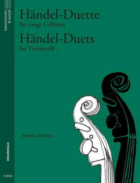 Händel-Duette für junge Cellisten